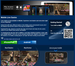 Mobile Live Dealer Casinos